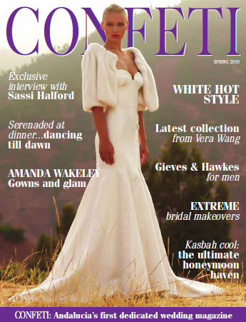 Confeti Magazine - Costa Del Sol, Spain Feb 2010