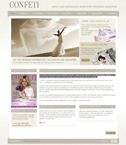 Confeti Website