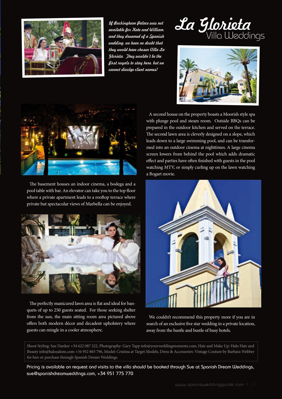 SPains Wedding Guide Autumn 2011 19