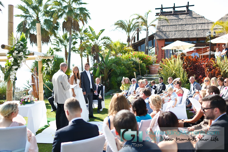 TikiTano Restaurant Wedding Venue - Estepona, Spain