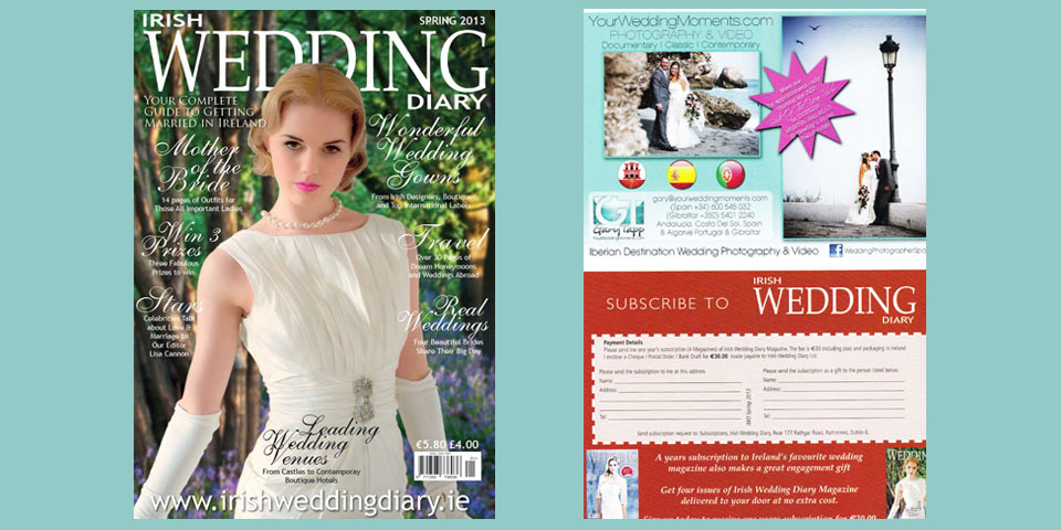 Irish Wedding Diary Magazine Spring 2013