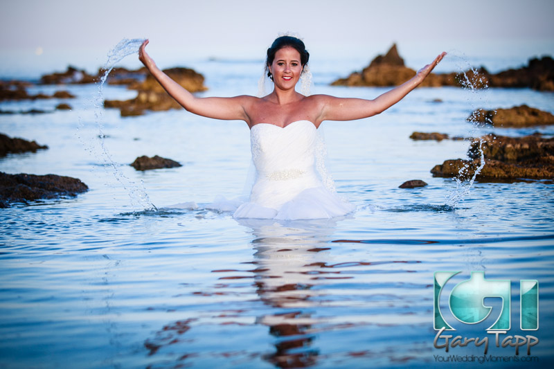 Trash The Dress Photography in Mijas Costa
