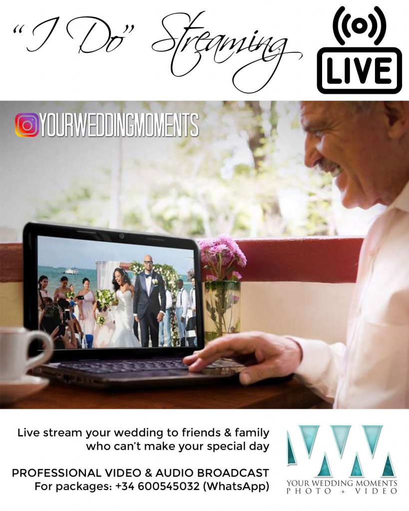 Live Stream your Wedding - Your Wedding Moments, Spain