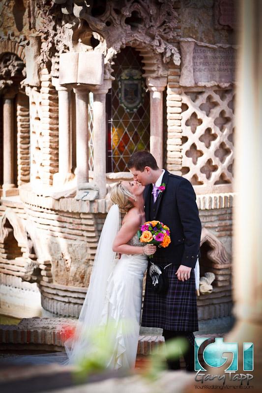 Castillo Colomares Wedding Photography in Benalmadena