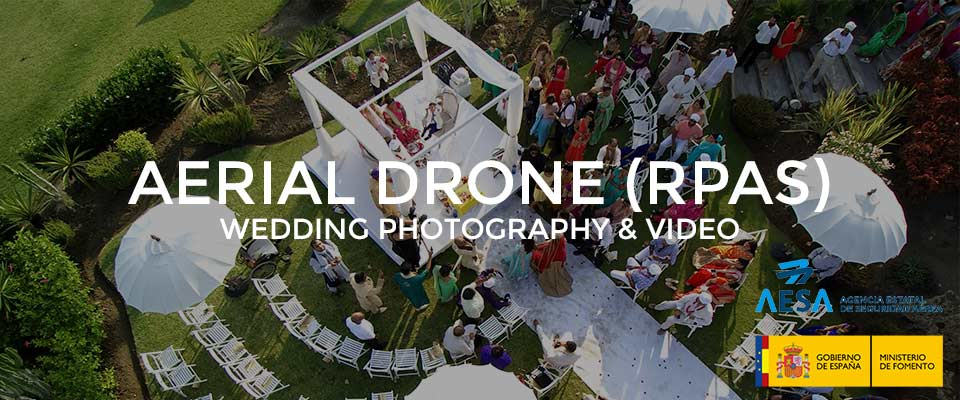 Drone Wedding Video Marbella Spain