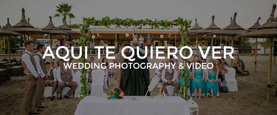 Aqui Te Quiero Ver Wedding Photographer Marbella