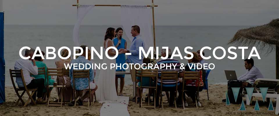Cabopino Wedding Photographer Mijas Costa