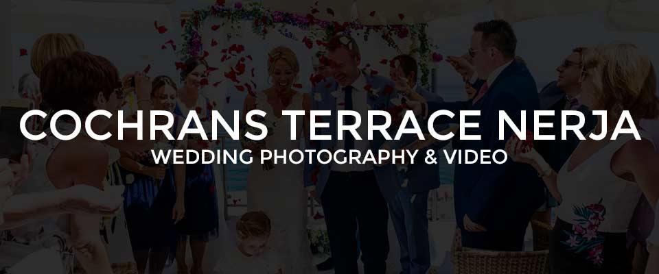 Wedding Photographer Cochrans Terrace Nerja