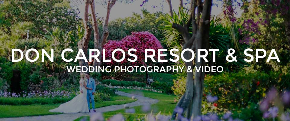 Don Carlos Resort Wedding Photographer Marbella