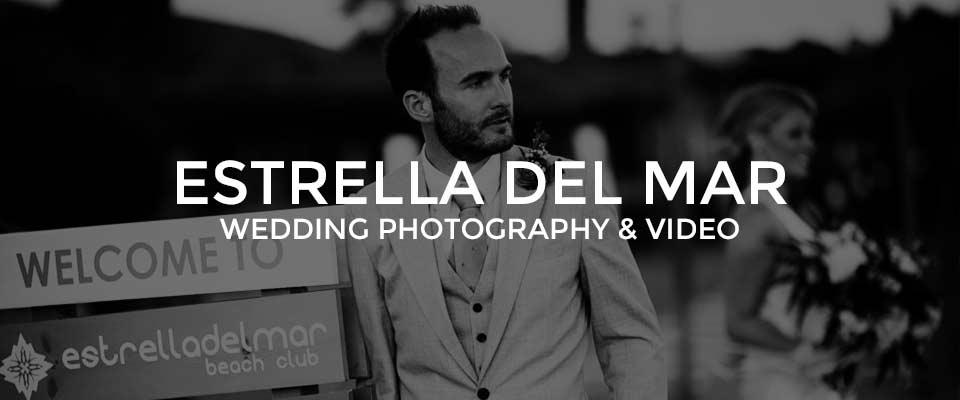 Wedding Photographer Estrella Del Mar, Elviria, Marbella