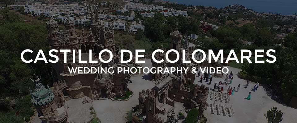 Castillo De Colomares Wedding Photographer, Benalmadena