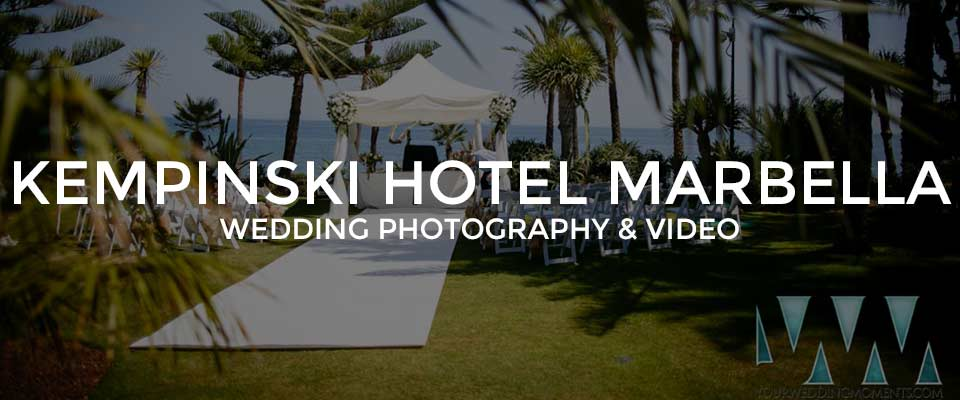 Kempinski Hotel Wedding Photographer Marbella