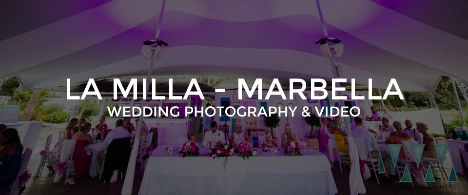 Wedding Photographer La Milla Restaurant, Marbella