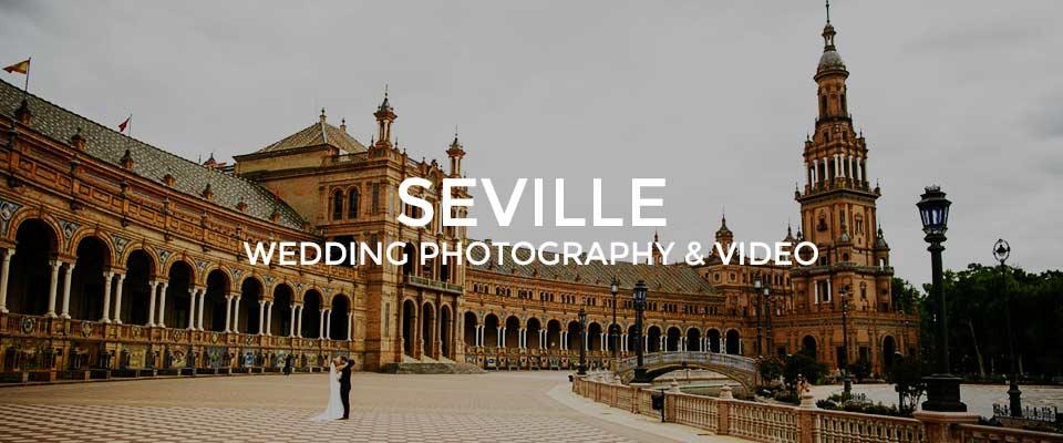 Seville Wedding Photography at the Plaza De Espana