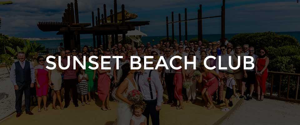 Sunset Beach Club Wedding Photographer Benalmadena