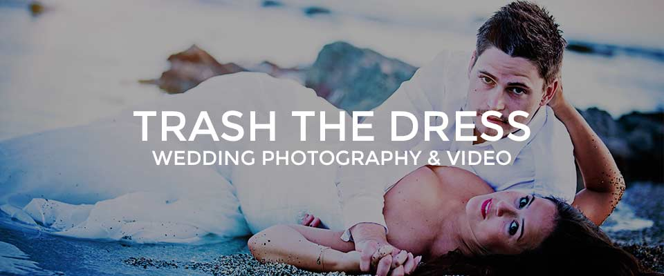 Trash The Dress Photoshoot Costa Del Sol, Marbella Malaga Nerja in Spain