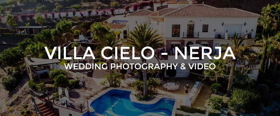 Wedding Photographer Villa Cielo, Nerja