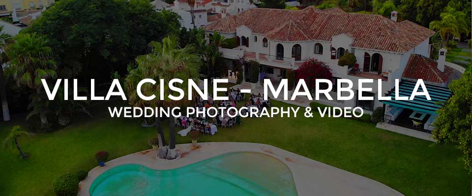 Villa Cisne wedding venue in Marbella