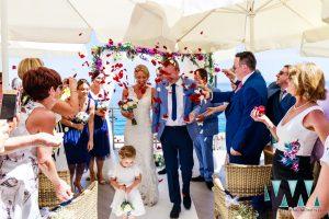 Wedding in Nerja bride and groom