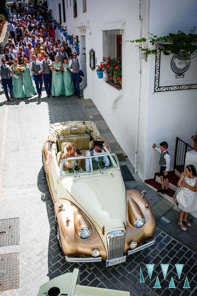 Mijas Pueblo Wedding Photographer