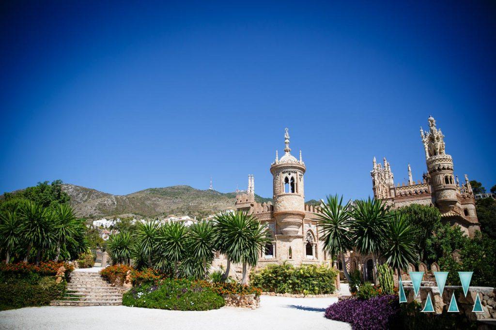 Castillo de Colomares wedding photographer