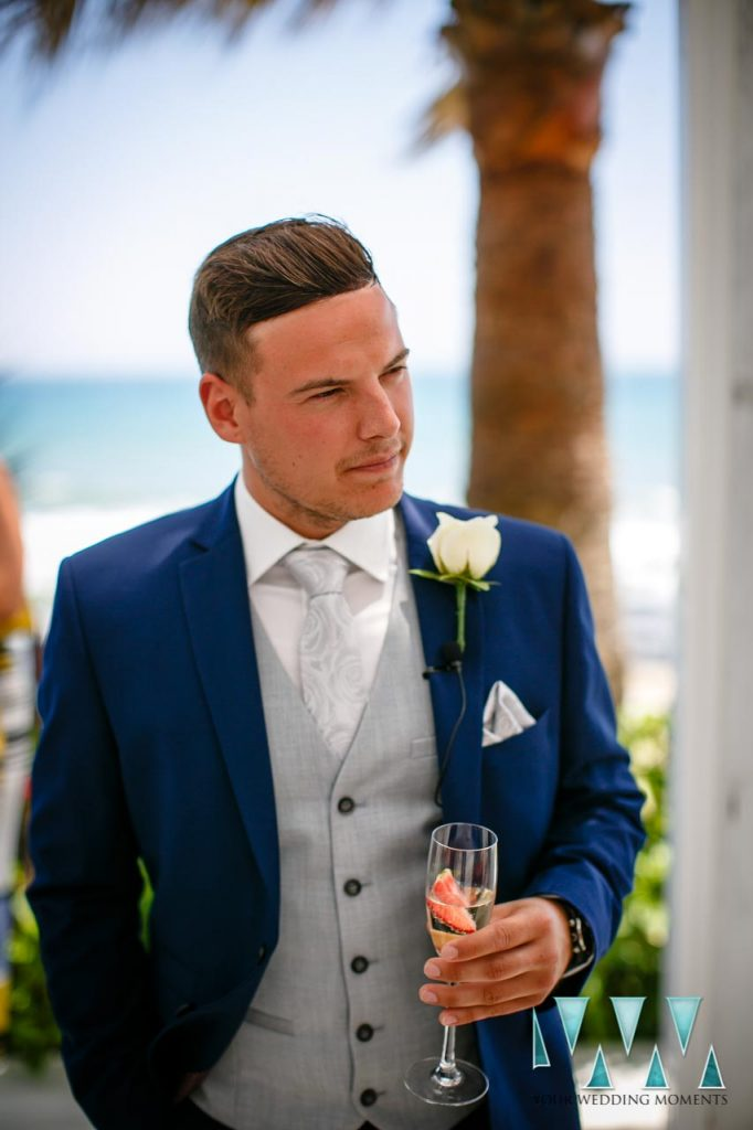 Groom Wedding Photographer El Oceano Hotel