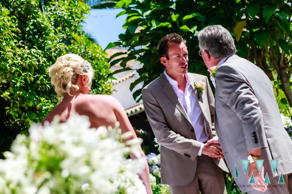Marbella Club Hotel Wedding Photographer