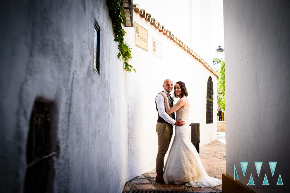 Wedding Photographer Marbella Santa Cristo Church