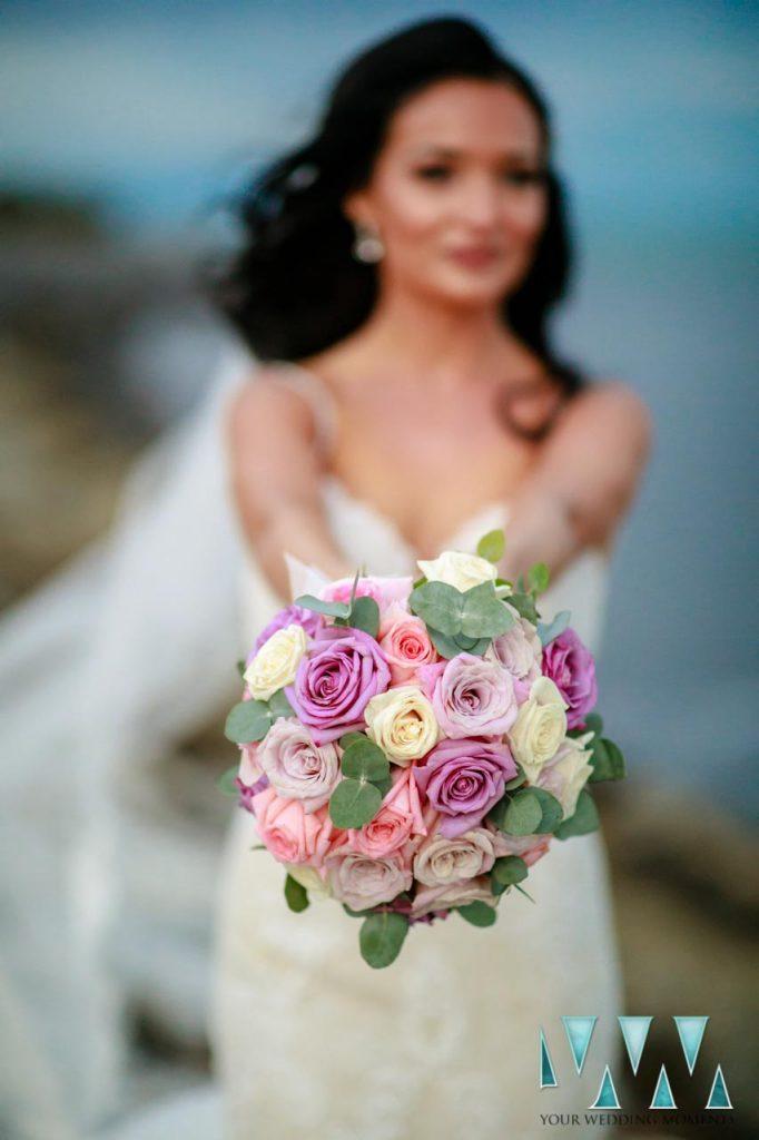 Sunset Beach Club wedding ceremony promenade photography benalmadena