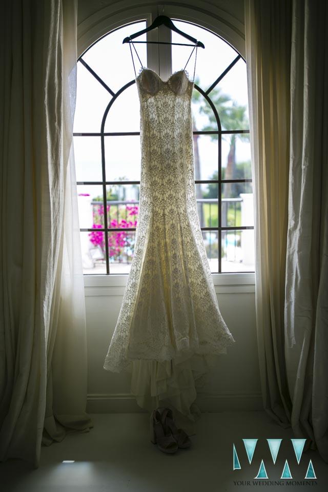 Villa Cisne wedding dress