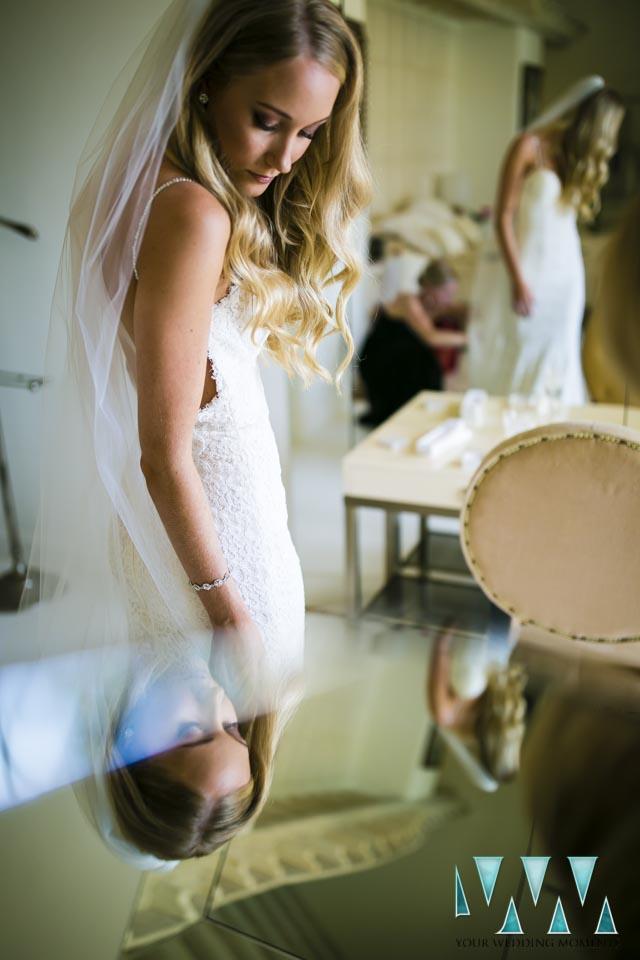 Villa Cisne wedding pre ceremony