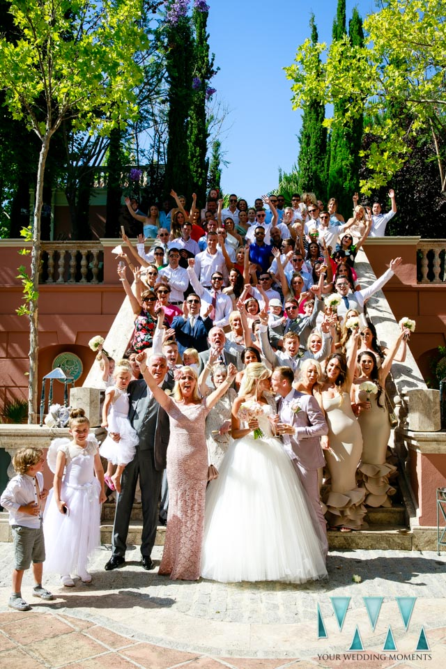 Wedding Photographer Villa Padierna