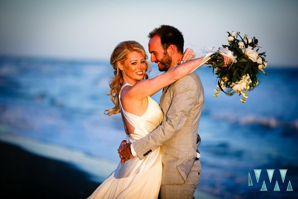 Costa Del Sol Wedding Photography on the Beach
