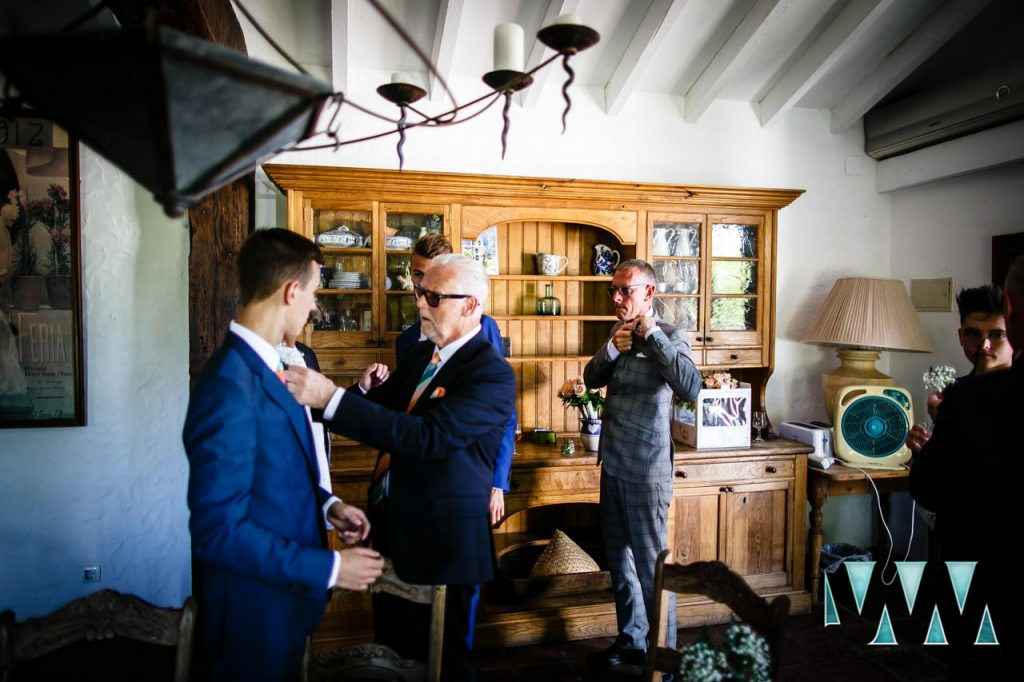 Rancho Del Ingles Wedding groomsmen