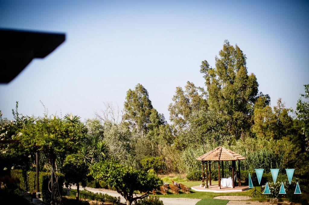 Rancho Del Ingles Wedding ceremony area