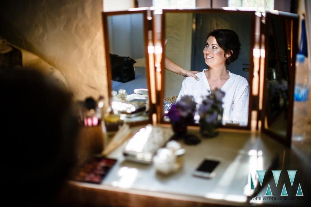 Rancho Del Ingles Wedding Hair and Makeup preparations