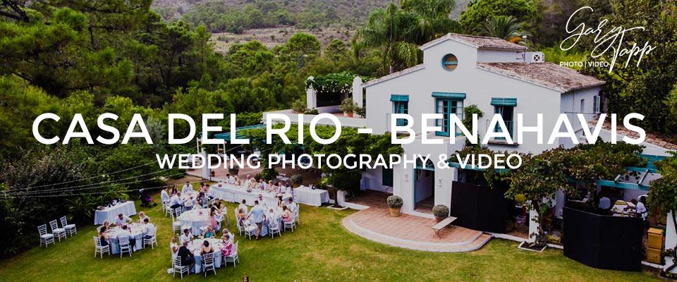 Casa Del Rio wedding venue in Benahavis