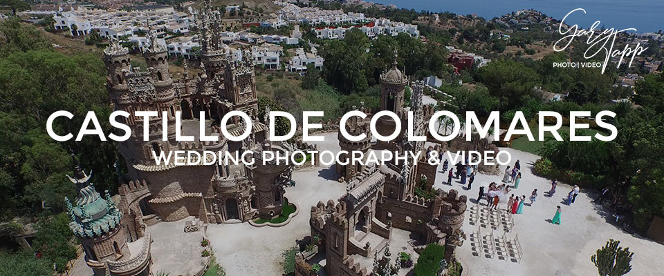 Castillo De Colomares Wedding Photographer, Benalmadena