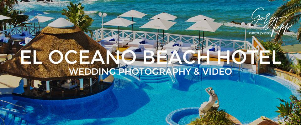 El Oceano Beach Hotel Wedding Photography
