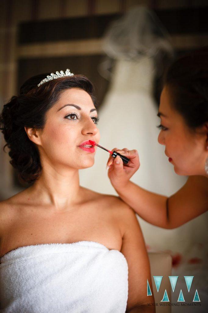 Finca La Concepcion wedding bridal preperations
