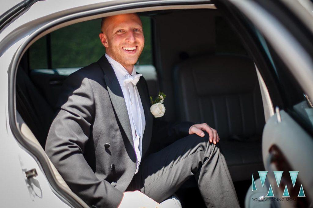 Finca La Concepcion wedding groom arriving