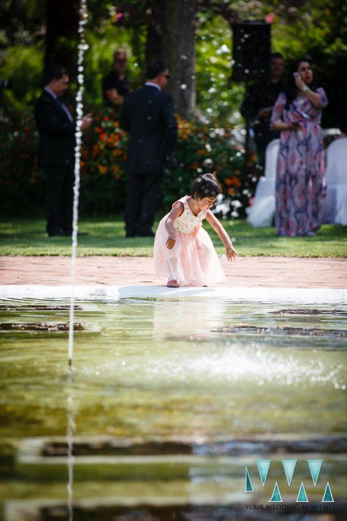 Finca La Concepcion wedding flowergirl