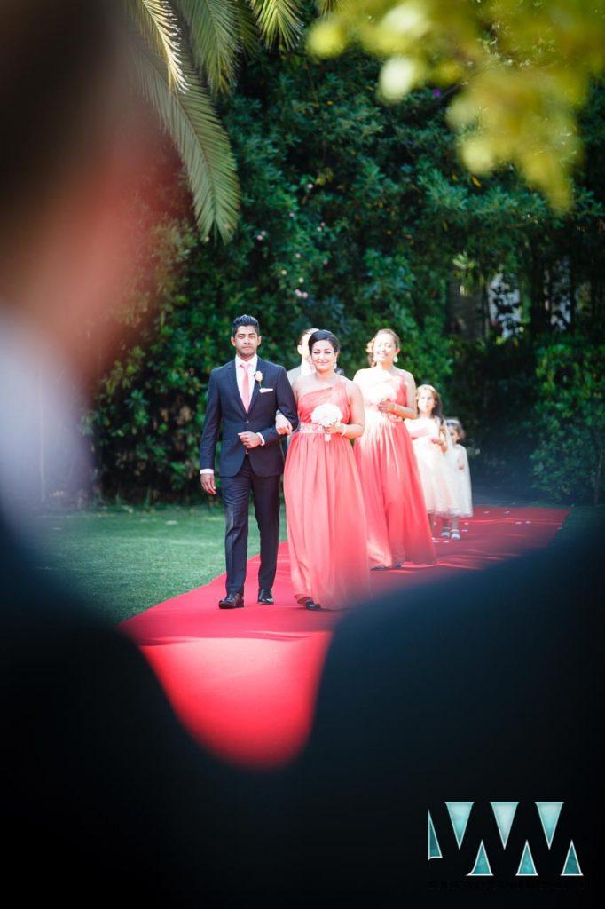 Finca La Concepcion wedding party