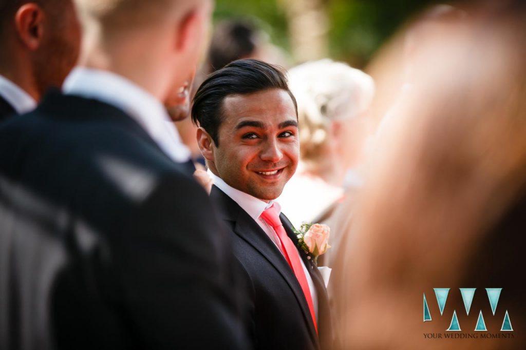 Finca La Concepcion wedding bestman