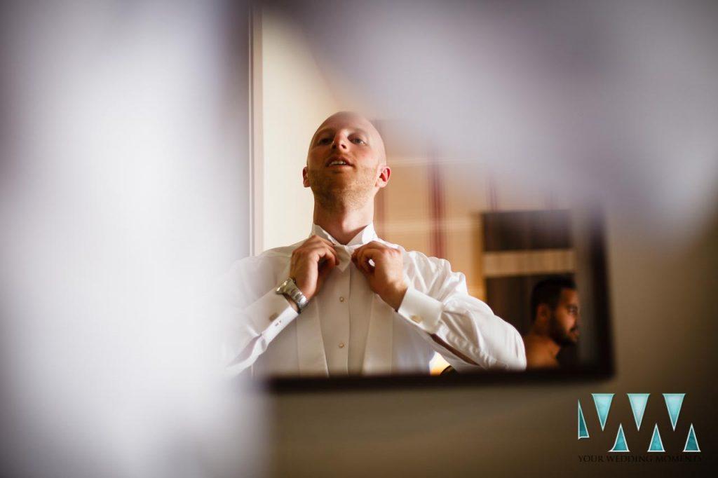 Finca La Concepcion wedding groom preperations