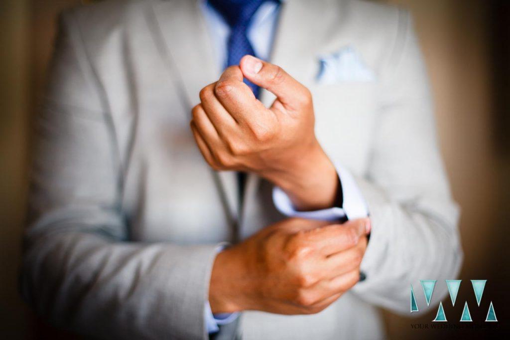Finca La Concepcion wedding groom dressing