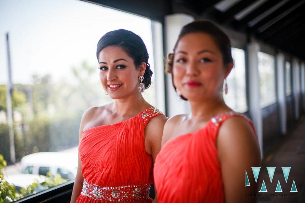 Finca La Concepcion wedding bridemaids