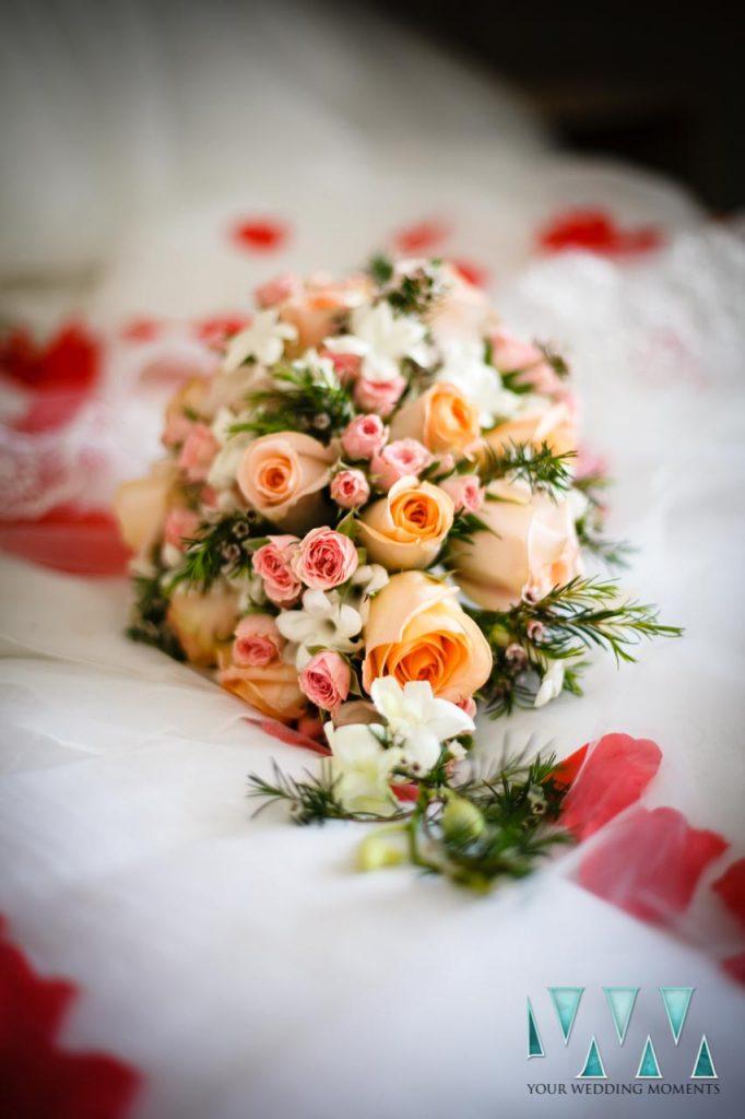 Finca La Concepcion wedding bouquet flowers