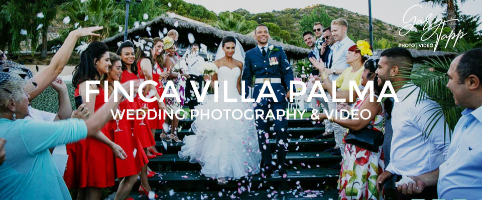 Finca Villa Palma wedding photography in Ojen, Marbella