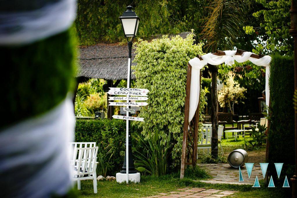 Molino de Santillan wedding entrance